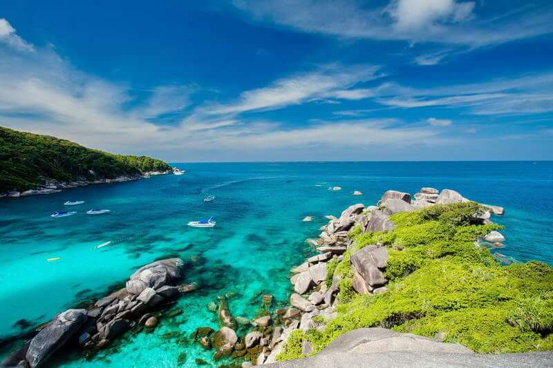 プーケット シミラン諸島ツアー