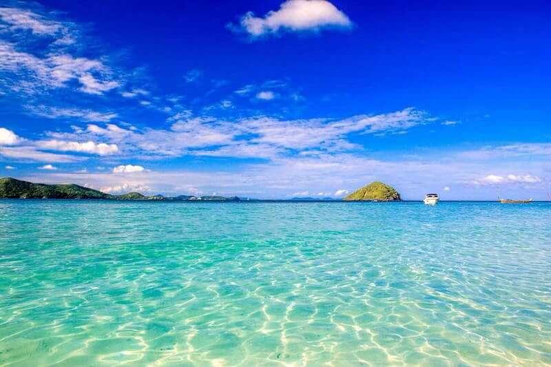 コーラル島 雨季