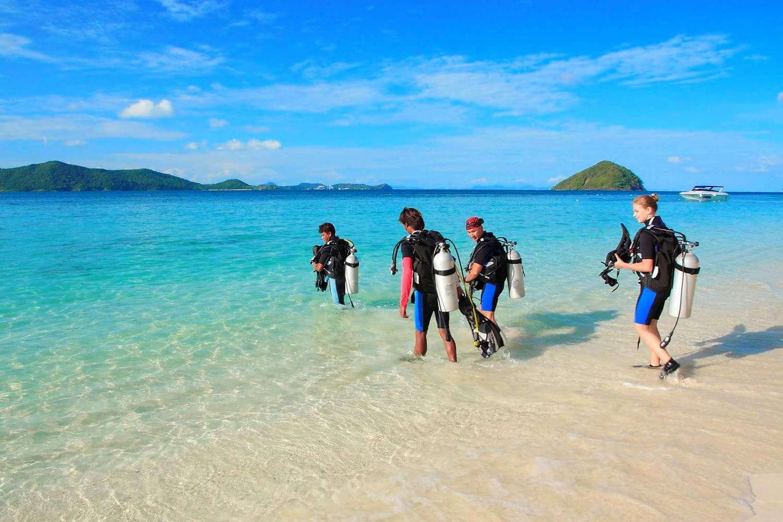 コーラル島 体験ダイビング