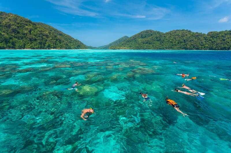 スリン諸島 ダイビング