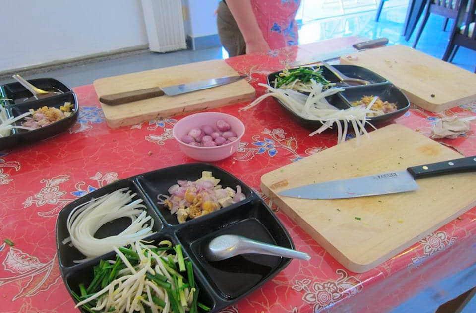 タイ料理 教室