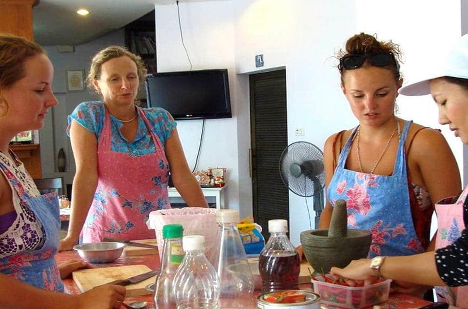 タイ 料理教室
