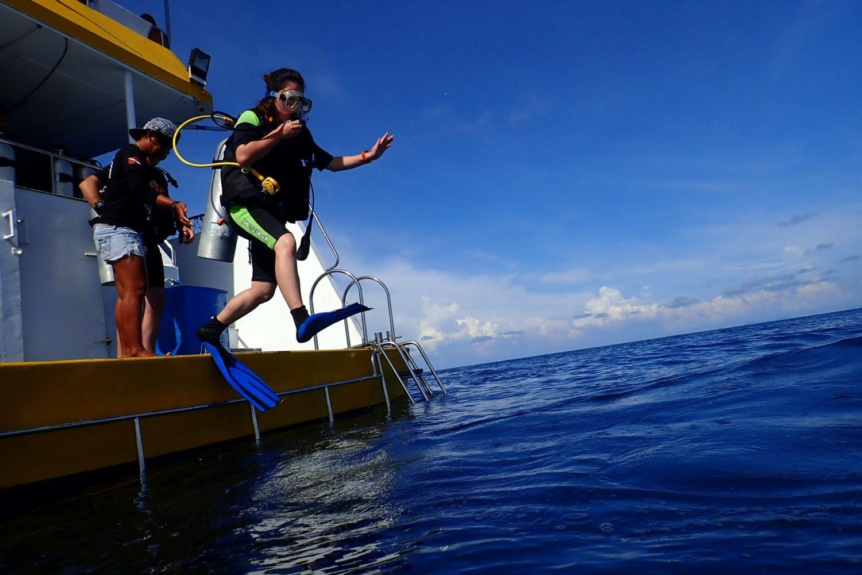 プーケット 体験ダイビング
