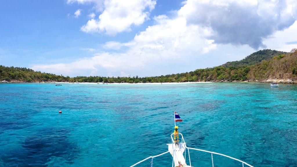 ラチャヤイ島 ダイビングツアー