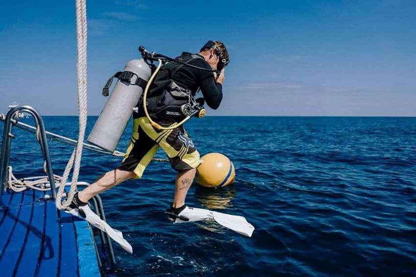 シミラン諸島 ダイビングスポット