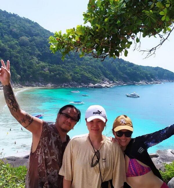 シミラン諸島 行き方